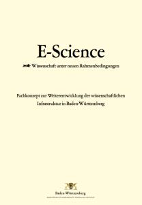 Fachkonzept zur Weiterentwicklung der wissenschaftlichen Infrastruktur