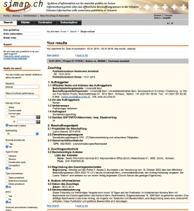 Simap - Elsevier University of Bern