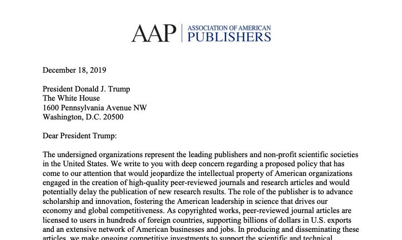 AAP_Letter_Open_Acess_2019